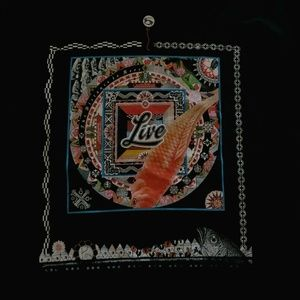 Live Rock Band The Distance To Here Concert Shirt
